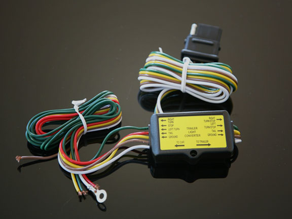 45 1848 5 to 4 motorcycle trailer wire harness converter RV Power Converter Wiring Diagram at n-0.co