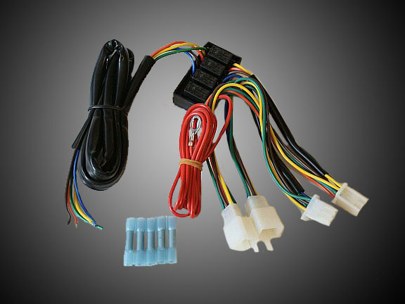 add on 45-8945 isolated trailer wire harness for goldwing gl1500  moto tour inc