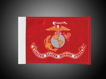 Marine Corps Motorcycle Flag