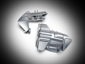 Chrome Engine Covers for Goldwing GL1833 - Manual Transmission
