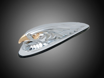 Eagle Head  Motorcycle Fender Ornament