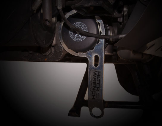 """Show Chrome Accessories 4-201 Filter Wrench fits most 2 1//2/"""" oil filters"""