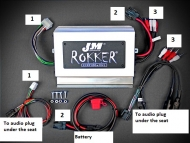 JAMP-800GW18-TBP Rokker Programmable Amplifier Kit for 2018 2019 2020Goldwing