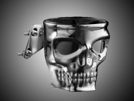 Kustom Kaddy Skull Driver Drink Holder for Goldwing