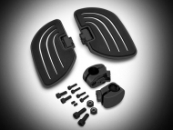 Black Beachcomber Highway Boards for Goldwing GL1833