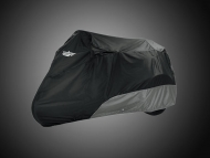 Deluxe Goldwing Trike Cover - Black-Charcoal