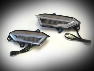 LED Mirror Lights with DRL and Sequential Turn Signals for Goldwing GL1833