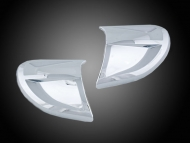 Goldwing GL1800 F6B Chrome Headlight Contour Trims