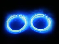 Goldwing Angel Eye Blue Speaker Light Kit
