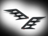 Black Front Fender Vent Accents for Goldwing GL1833