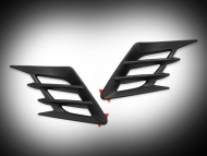 Black Side Panel Vent Accents for Goldwing GL1833