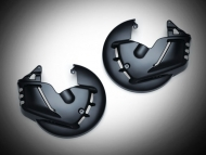 Black Front Rotor Covers for Goldwing GL1800 F6B