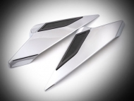 Twinart Chrome Side Covers for Goldwing GL1833