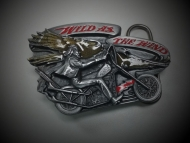 Wild as The Wind Belt Buckle